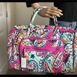 Vera Bradley weekender Travel Bag CARRYON - LAST 1